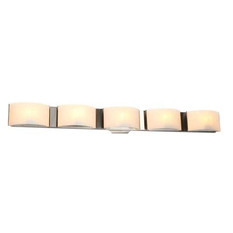 eurofase dakota 6 lights eurofase dakota collection 5 light satin nickel wall