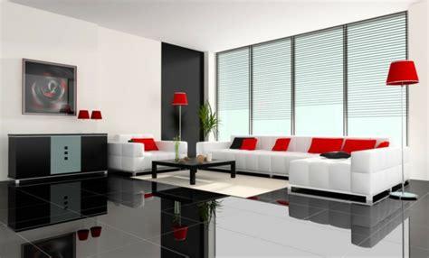 rotes schwarzes und weißes wohnzimmer 100 fantastische ideen f 252 r elegante wohnzimmer archzine net