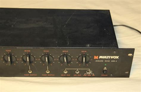 Analog Reverb Rack by Multivox Mxd 5 Analog Delay And Reverb Rackmount Vintage Reverb