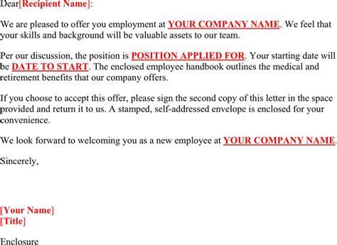 Offer Letter Uae Format offer letter template for free tidyform