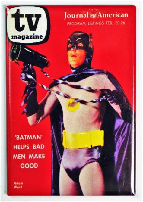 Nesa Shopp Tetrise Syari Najwa tv magazine adam west batman fridge magnet dc