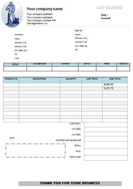 House Cleaning Receipt Template by Window Cleaning Invoice Template Free Cleaning Invoice