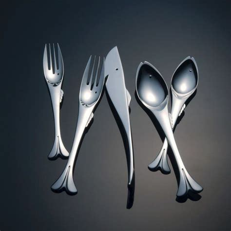 artistic flatware 40 unique modern flatware sets that you can buy right now