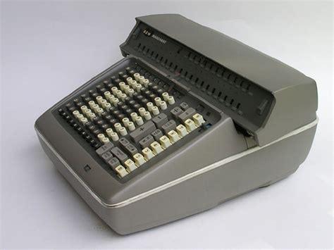calculator btg rotary calculators marchant abl