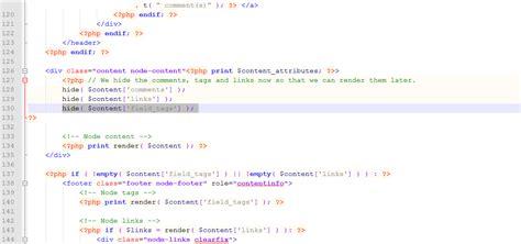 x theme blog hide tags drupal 7 x how to remove quot admin s blogs quot link template