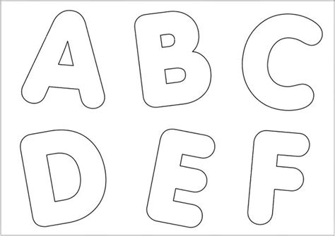 moldes de letras del abecedario para imprimir imagui moldes letras para mural imagui