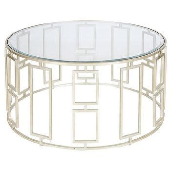 tracery coffee table tracery silver moroccan quatrefoil glass top coffee table