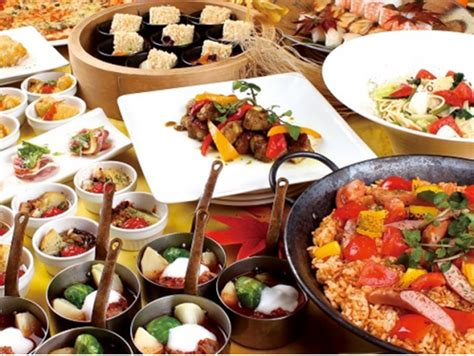 dinner buffet at hotel keihan universal city s world