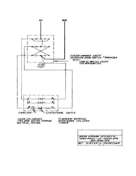 doerr single phase motor wiring diagram wiring diagram