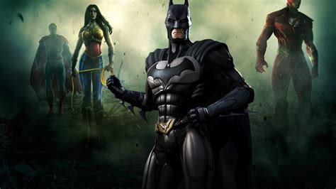 imagenes de wonder woman injustice 1366x768 fighting superman injustice gods among us