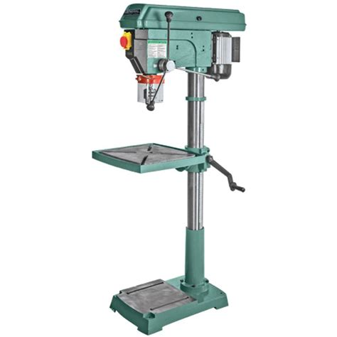 genesis 10 in 5 speed benchtop drill press with light