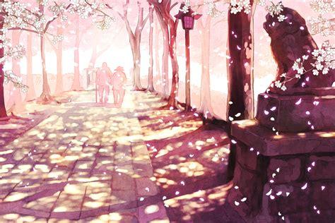 Japanese Cherry Blossom Tree sakura desktop wallpaper wallpapersafari