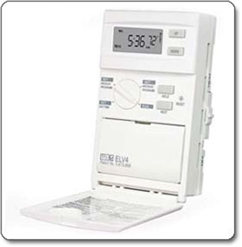 simple comfort 2010 thermostat lux products elv4 programmable line voltage thermostat