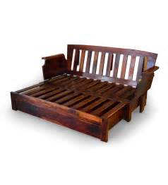 Wooden Sofa Beds Cinnamon Storage Wooden Sofa Bed With Mudramark By Kailash Chand Gourana Sofa