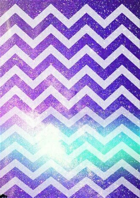 galaxy zig zag wallpaper background on we heart it randoms pinterest glitter