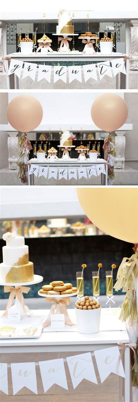 free printable graduation party decorations 33 graduation party ideas for high school for 2018