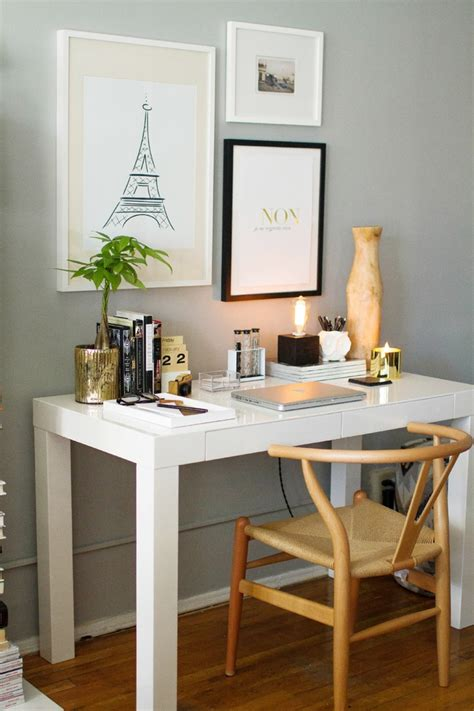 desk clean  organized simple tricks