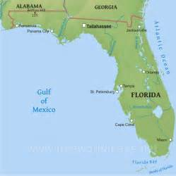 florida landform map florida history notebook simplebooklet