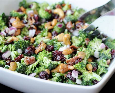 cold salads cold broccoli salad fairview foodiefairview foodie