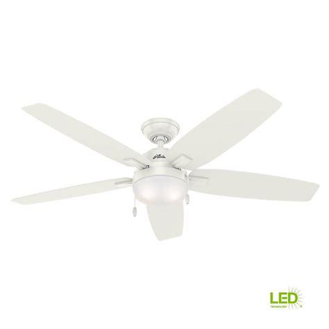 antero fan 54 antero 54 in led indoor fresh white ceiling fan