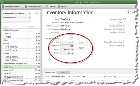 quickbooks tutorial notes inventory quickbooks enterprise and premier quickbooks
