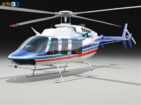 Helikopter Bell 407 3ds max bell 407 helicopter