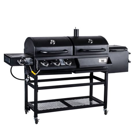 Backyard Grill Grills Backyard Pro Portable Outdoor Gas And Charcoal Grill Smoker Knocked Wishlist