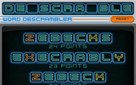 scrabble word descrambler word descrambler coach for scrabble and words with