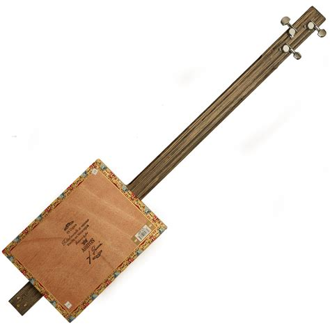 nearly new nineboys cigar box guitar nearly new at gear4music com