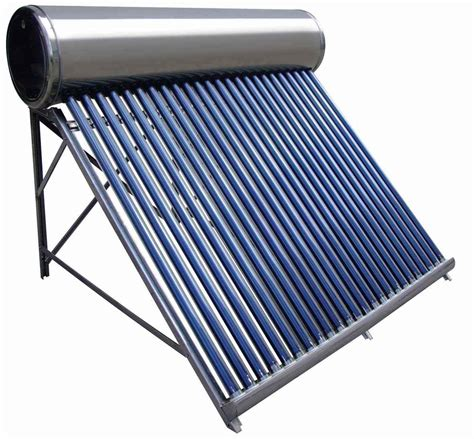 solar powered heat l solar water heater