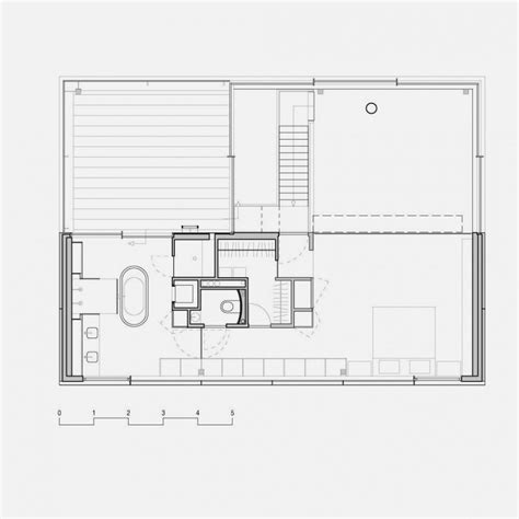 glass house floor plan modern house with big open views trough glass wall