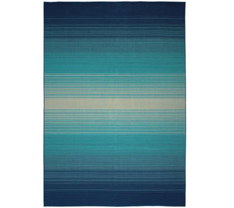 8x10 Indoor Outdoor Rug Living 8x10 Kittery Ombre Indoor Outdoor Rug Qvc