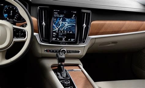 Volvo S90 Interior by Se Revela El Secreto Volvo S90 Cambiosecuencial