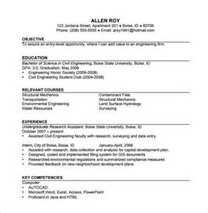 Resume Template Construction Worker by Construction Resume Template 9 Free Word Excel Pdf