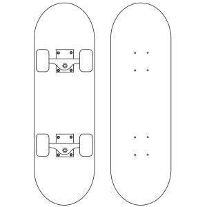 skateboard designs coloring pages skateboard coloring page