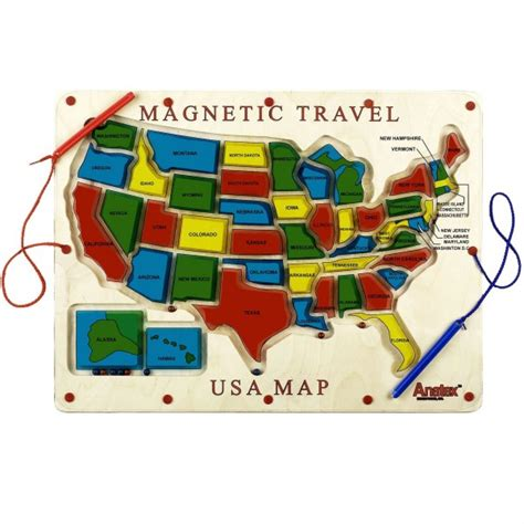 map usa magnetic educational magnetic usa map