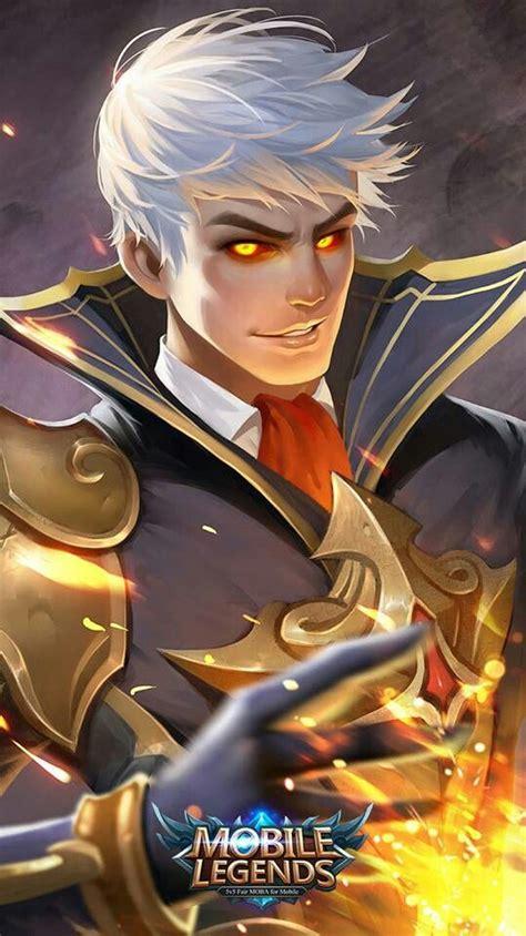 Kaos Mobile Legend Umakuka Mole Saber mobile legends alucard quot fiery inferno quot mobile legends