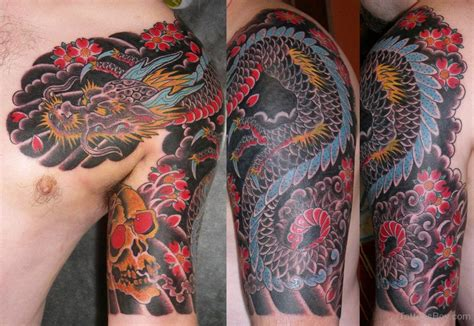 chinese dragon tattoo sleeve designs tattoos designs pictures page 11