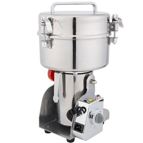 Small Crushed Machine For Home 1500g Stainless Steel Oscillating Ultrafine