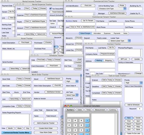 tracker 2000 layout design software commercial rental tracker plus information and download