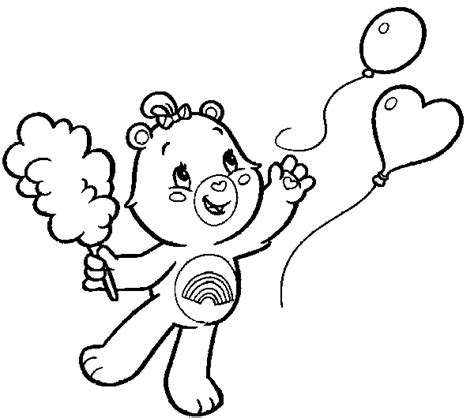 family cing coloring page free coloring pages of cheer bear