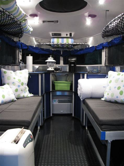 Space Saving Bed Ideas Kids by Airstream Basecamp Interior Rv S Camping Pinterest