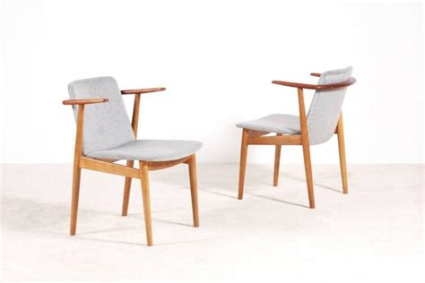 Fashion Sling Premium High Quality Termurah Se 1 hans pair of teak and oak chairs 1950s for sale at