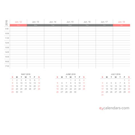 3 Calendars On One Page Create Free Printable Monthly Yearly Or Weekly Calendars