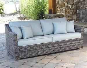 Rattan Outdoor Sofa Furniture Patio Outdoor Furniture Grey Wicker Patio