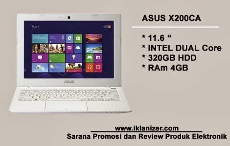 Laptop Asus Ram Besar asus x200ca notebook cantik berkapasitas ram besar dengan harga menggiurkan jasa promosi iklan
