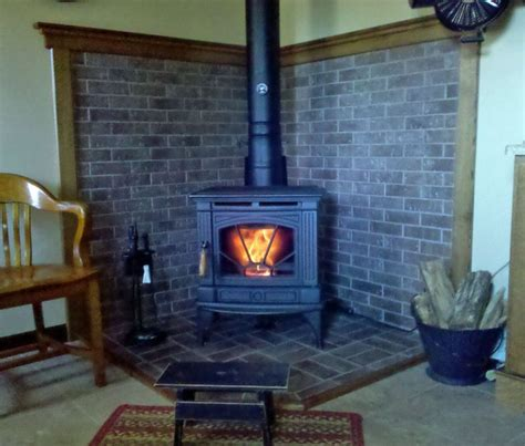 Wood Stove Design Ideas by Wood Stove Corner Hearth