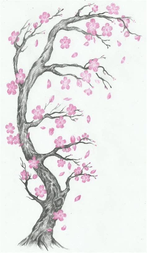 sakura tree tattoo cherry blossom tattoos on peonies