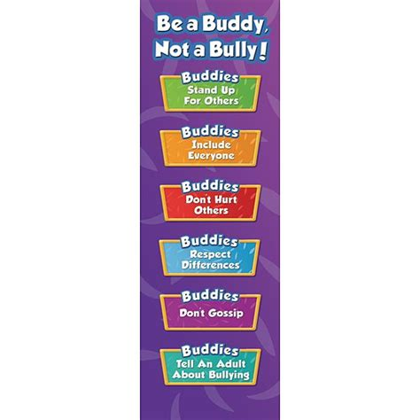 printable bullying bookmarks promote positive behavior with these anti bullying