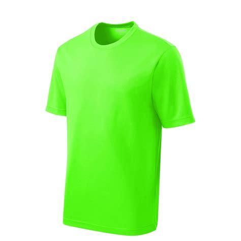 neon color shirts sport tek st340 posicharge racermesh neon green